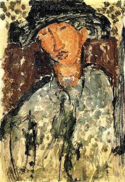 Chaim Soutine, c.1915 - Amedeo Modigliani