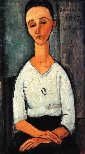Chakoska, 1917 - Amedeo Modigliani