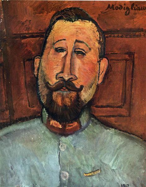 Doctor Devaraigne, 1917 - Amedeo Modigliani
