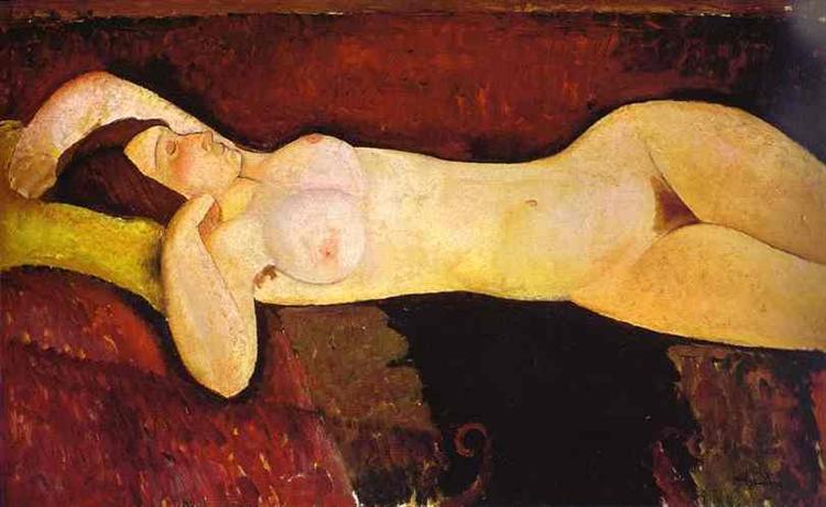 Le grand Nu (The great nude), 1917 - Amedeo Modigliani