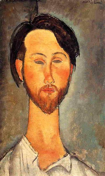 Leopold Zborowski, 1918 - Amedeo Modigliani