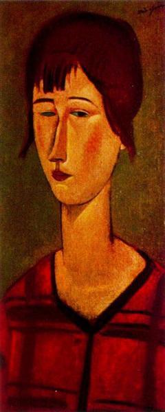 Marcelle, 1917 - Amedeo Modigliani