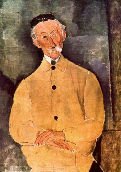 Monsieur Lepoutre, 1916 - Amedeo Modigliani