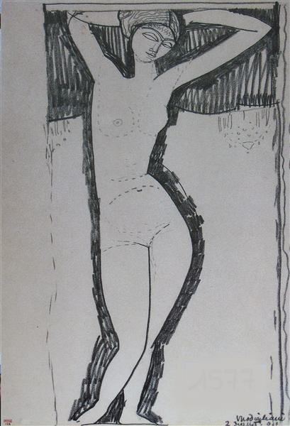 Nude - Amedeo Modigliani