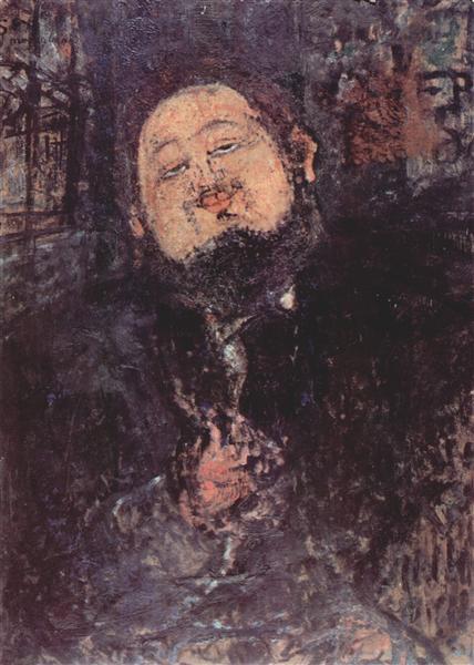 Portrait of Diego Rivera, 1914 - Амедео Модільяні