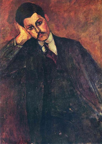 Portrait of Jean Alexandre, 1909 - Amedeo Modigliani