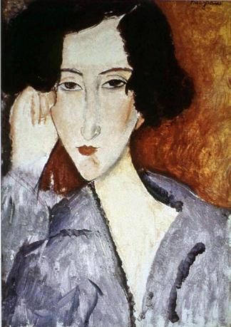 Portrait of Madame Rachele Osterlind, 1919 - Amedeo Modigliani