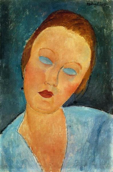 Portrait of Madame Survage, 1918 - Amedeo Modigliani