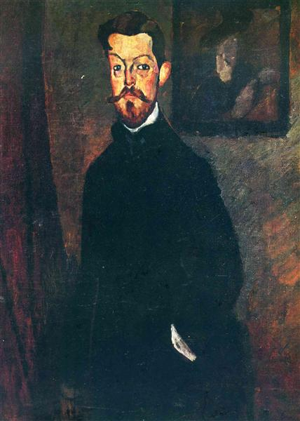 Portrait of Paul Alexandre, 1909 - Amedeo Modigliani