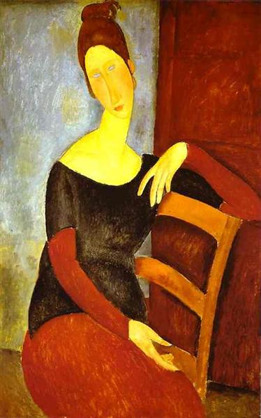 The Artist's Wife, 1918 - Amedeo Modigliani