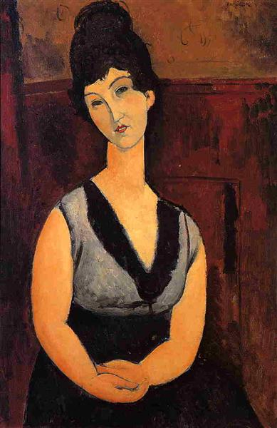 The Beautiful Confectioner, 1916 - Amedeo Modigliani