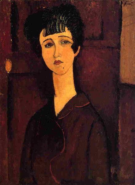 Виктория, 1916 - Амедео Модильяни