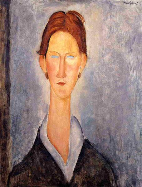 Young Man (Student), 1919 - Amedeo Modigliani