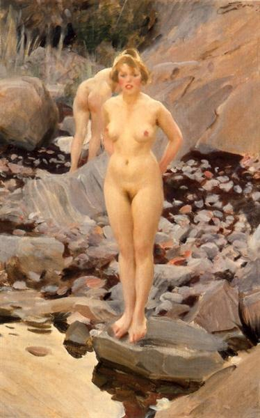 Helga, 1917 - Anders Zorn