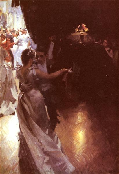 Waltz, 1891 - Anders Zorn