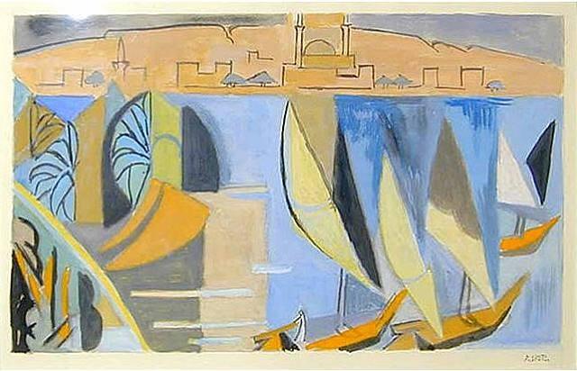 Le Nile, 1952 - Андре Лот