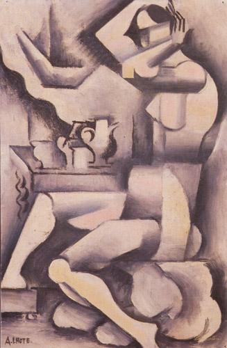 Nu a sa toilette, 1918 - André Lhote