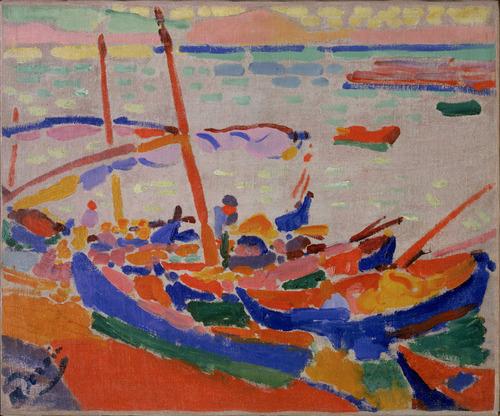 Fishing Boats, Collioure, 1905 - Andre Derain