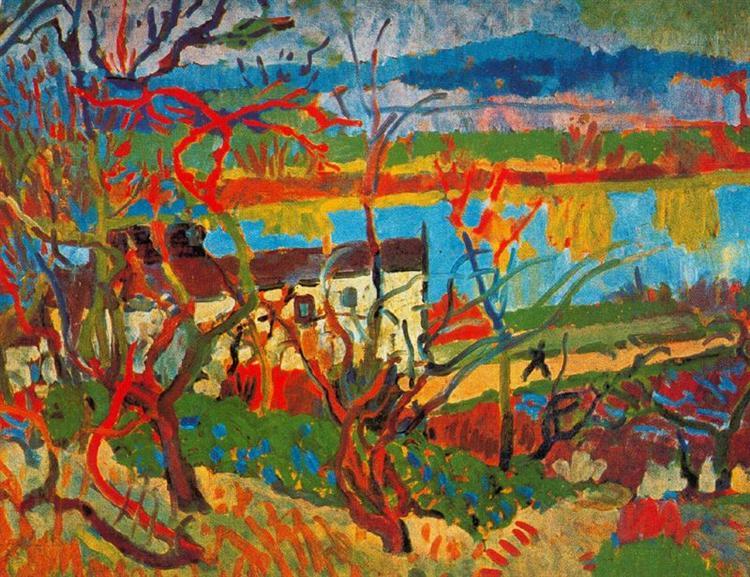 The river - Derain Andre