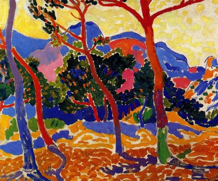 The Trees, c.1906 - Andre Derain