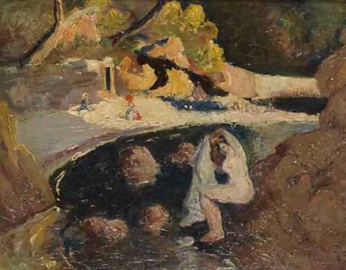 Baigneuses - Andre Dunoyer de Segonzac