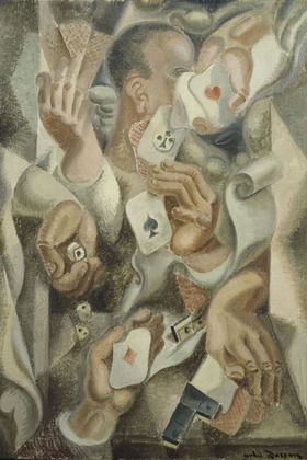 Card trick, 1923 - Andre Masson