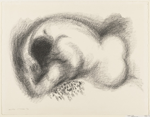 Reclining Nude, 1956 - Andre Masson