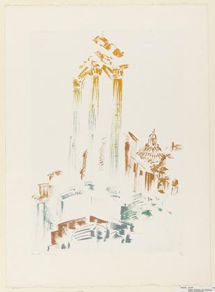 Rome: Portico of Octavia, 1956 - Андре Массон