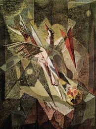 The bird pierced with arrows, 1925 - Andre Masson