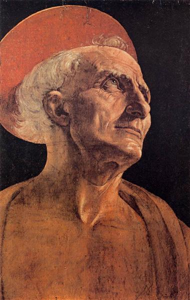 St Jerome, c.1465 - Андреа Верроккьо
