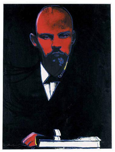 Black Lenin, 1987 - Andy Warhol