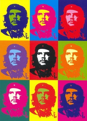 che guevara 1968 andy warhol. Black Bedroom Furniture Sets. Home Design Ideas