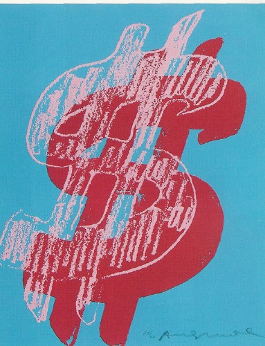 Dollar Sign - Andy Warhol