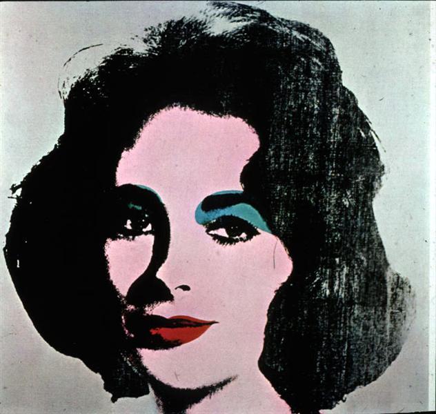 Liz Taylor, 1964 - Andy Warhol