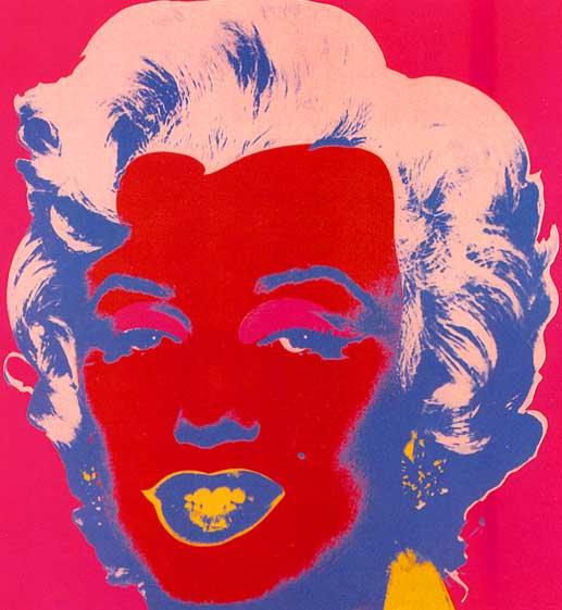 Marilyn Red, 1967 - Andy Warhol