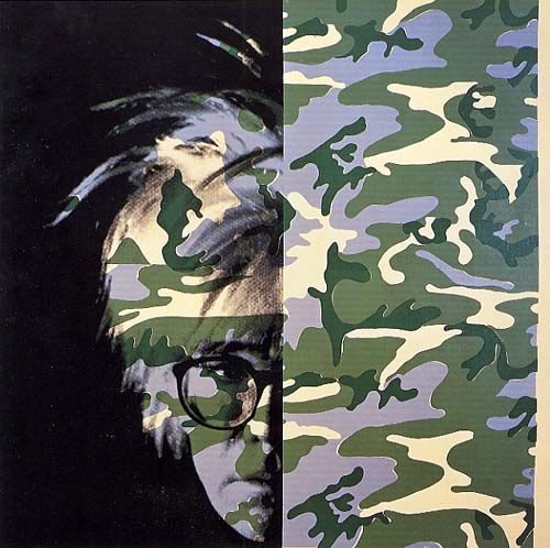 Self-Portrait (Camouflage), 1986 - Andy Warhol