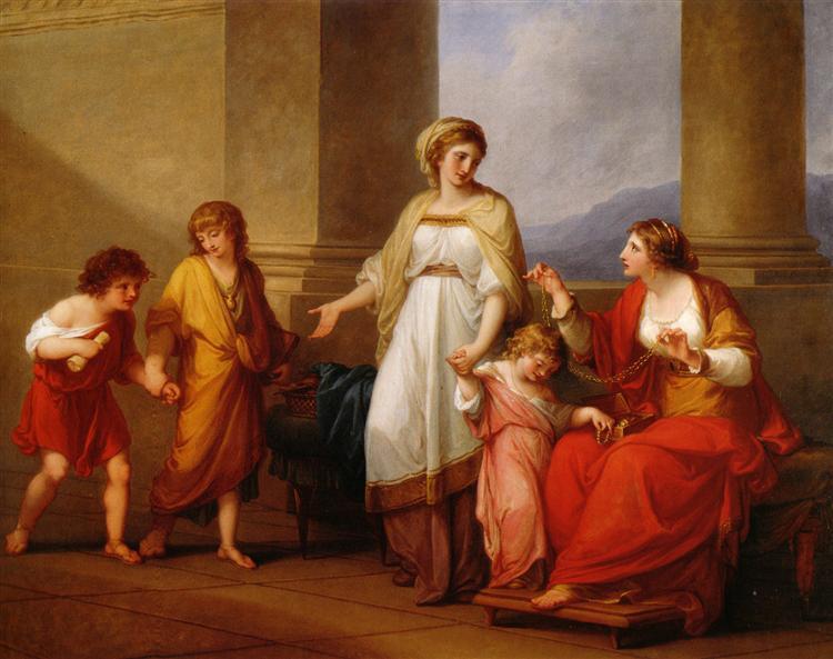 Cornelia Africana, 1785 - Angelica Kauffman