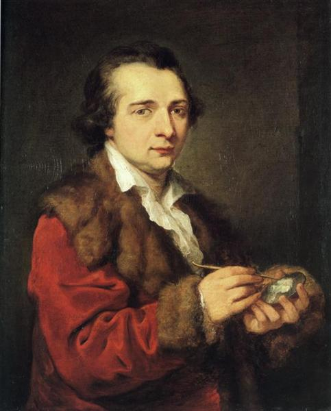 Portrait of Karl Leberecht, 1785 - Angelika Kauffmann