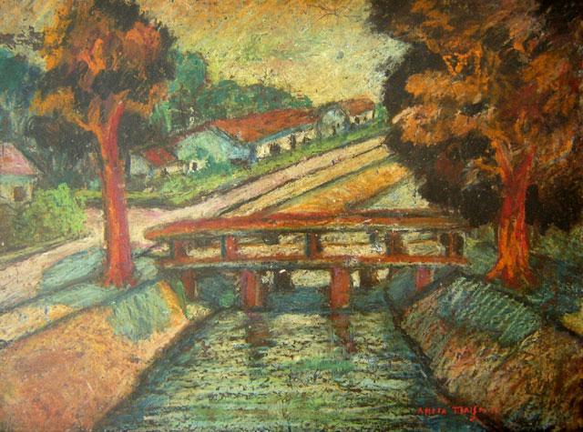 O canal e a ponte - Anita Malfatti