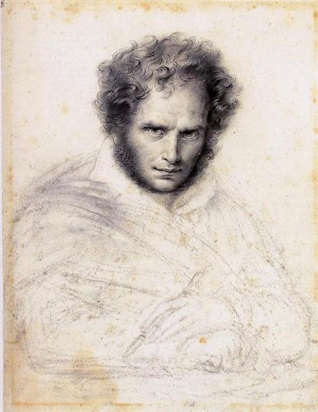 Self-portrait, 1824 - Anne-Louis Girodet