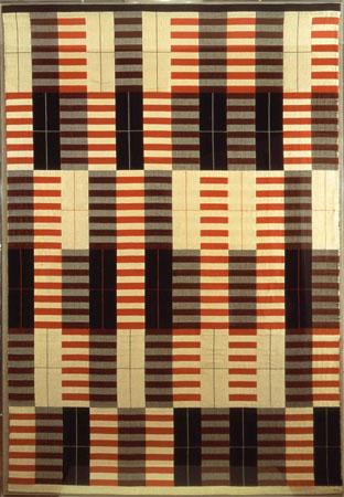 Black-White-Red, 1964 - Anni Albers