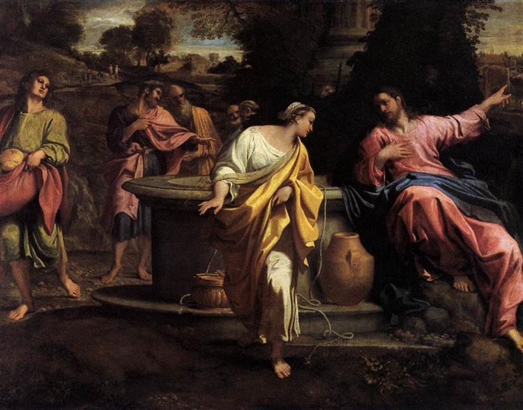 The Samaritan Woman at the Well - Annibale Carracci