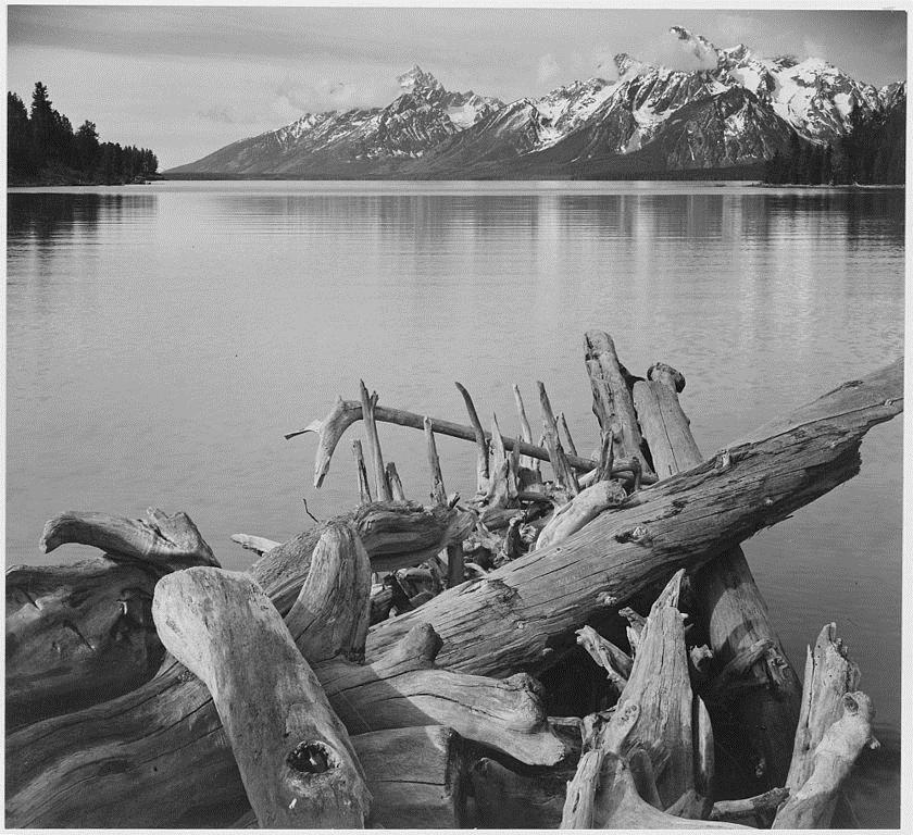 Grand Teton National Park, Wyoming, 1933