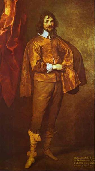 Arthur Goodwin, M.P. (oil on canvas), 1639 - Anthony van Dyck
