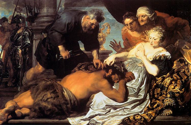 Samson and Delilah, 1620 - Anthony van Dyck