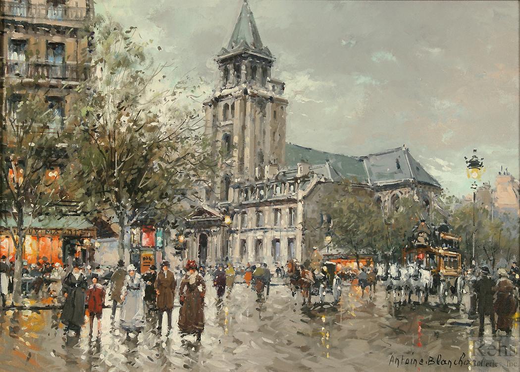 Eglise De Saint Germain Des Pres Antoine Blanchard