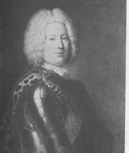 Heinrich von Podewils, Prussian statesman, 1731 - Antoine Pesne