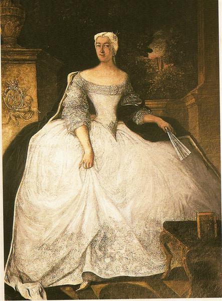 Portrait of Teofila Działyńska, 1754 - Antoine Pesne