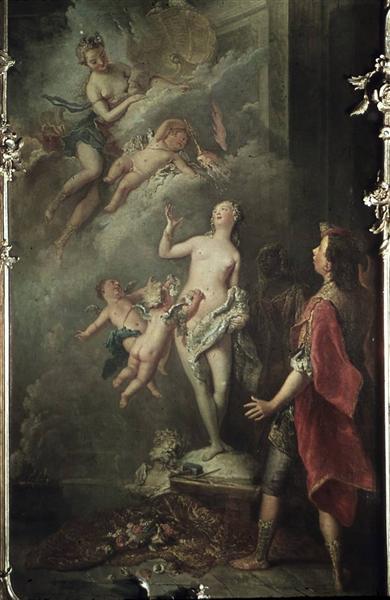 Pygmalion und Galatea, 1747 - Antoine Pesne