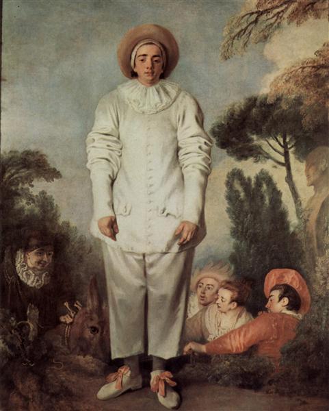 Gilles, c.1718 - c.1719 - Antoine Watteau